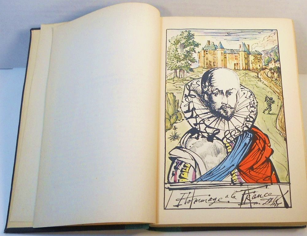 Essays of Michel De Montaigne Selected Illus by Salvador Dali 1947 HC