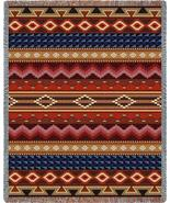 70x54 Native Southwest Geometric Pattern Tapest... - $49.95