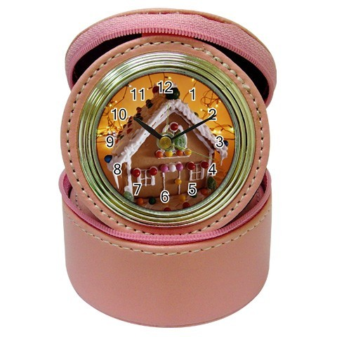 Gingerbread House Jewelry Case Clock