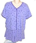 Moments Intimates Lilac 2 pc Pajama Set Size Large - $9.99