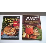 Two Cookbooks Crockery Slow Cooker Recipes Better Homes and Gardens  - $2.00