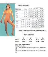 ADULT UNITARD TAN/NUDE FULL BODY SUIT MENS SMALL