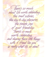 Current Celebrating Friendship Greeting Card NEW - $3.25