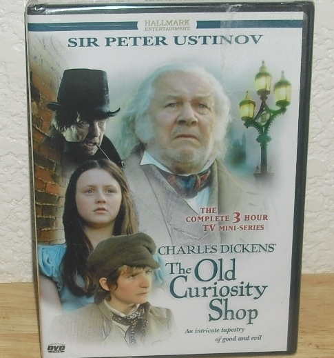 DVD Charles Dickens The Old Curiosity Shop Mini Series