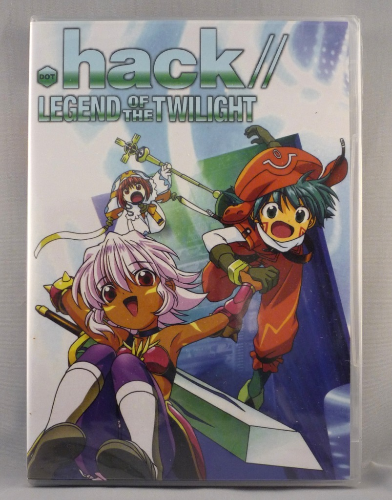 .Hack//Legend of the Twilight - Complete DVD Series - Episodes 1 to 12 - Brand N