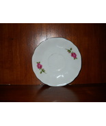 Shabby Chic Saucer with Rose Pattern - $5.99