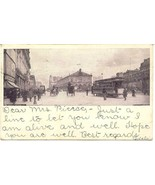 Herald Square New York City 1906 Vintage Post Card - $7.00