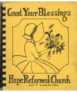 Region Cookbook Nebraska NE Lincoln Hope Reform... - $8.99