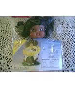 Air Freshener Doll~Dark Skin & Hair~Fibre Craft - £4.11 GBP