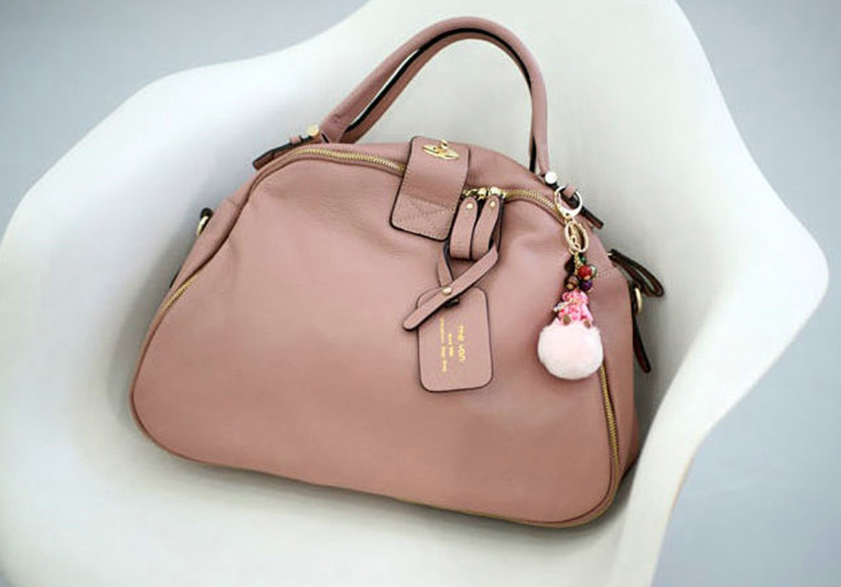 Leather_bag_korean_tote_dusty_pink