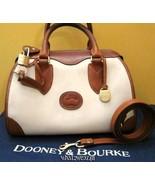 VINTAGE DOONEY & BOURKE PADLOCK & KEY DOCTOR BAG SPEEDY - $225.00