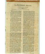 RARE 1796 Presidential Broadside on Silk  GEORG... - $7,500.00