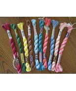 DMC  Pearl Perle Cotton Variations  Size 5 10 c... - $28.00