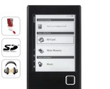 "Buy E-Readers - New Harmony eBook Reader w/ 6"" e-ink Display + MP3"