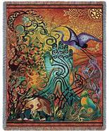 70x54 CELTIC Awen Irish Ireland Tapestry Afghan... - $49.95