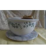Corelle Callaway Ivy Set of 3 Stoneware Mixing Bowls 1 qt 2 qt and 3 qt - $20.00