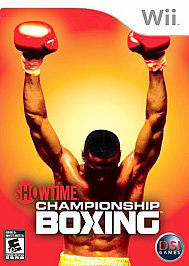 Showtime Championship Boxing  (Wii, 2007) NEW