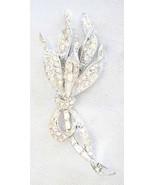 Pell Mid Century Modern Crystal Rhinestone Pave... - $39.95