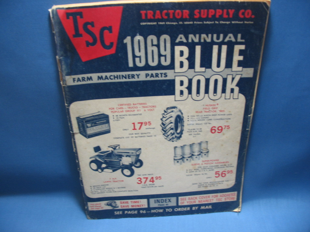 Tractor Supply Company-1969 Blue Book