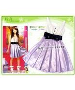 Purple Girls Party Dress Birthday Party Dress C... - $8.00