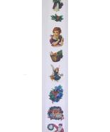 CHRISTMAS RIBBON VINTAGE IMAGES EIGHT FEET LONG... - $6.95