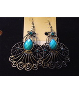Handcrafted silver tone angel earrings 3