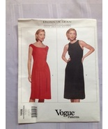 Vogue 1958 - dress pattern - Donna Karan - size 12, 14, 16 - £12.33 GBP