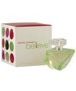 Believe EDP Britney Spears Perfume Spray Women ... - $21.98