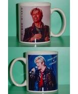David Bowie 2 Photo Designer Collectible Mug 01 - $14.95