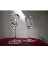 Lenox Crystal Candlesticks Pair New Glass Candl... - $14.00
