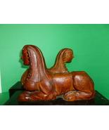 Antique Wooden Sphinx  Figures on Drawers Neo C... - $1,275.00