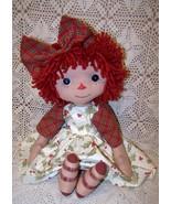 PDF PrimitiveRaggedy  Abby Folk Art Doll Patter... - $7.95