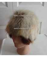 Vintage Fox Fur Women Hat Med 22  60's Artisan ... - $57.88