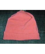 J Jill Cashmere Beanie Hat Cap Pink  - $12.00