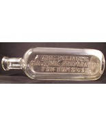Vintage Apothecary Medicine Fahrney Bottle Chicago ILL Glass Pharmacy Bottle - $9.99