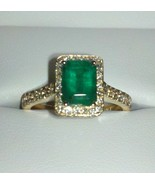 AMAZING CUSTOM HAND-CRAFTED NATURAL EMERALD AND... - $4,999.00