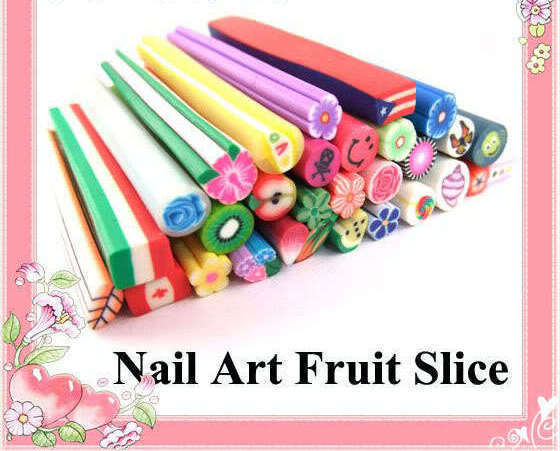 Fruit Slice Nail Art Decoration Gel tips ( Per stick )