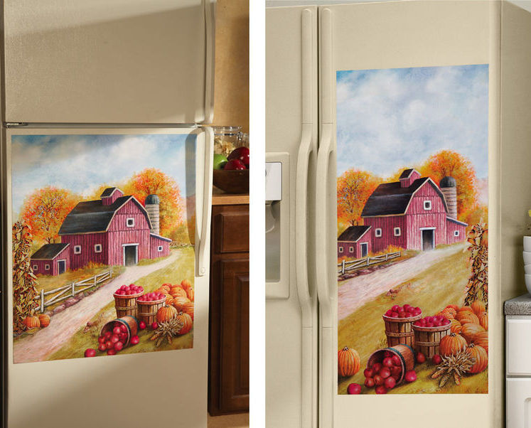 Image 0 of Country Barn/farm Fridge Refrigerator Magnet SxS