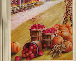 Image 2 of Country Barn/farm Fridge Refrigerator Magnet SxS