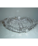American Brilliant Cut Glass Dish Footed - $150.00