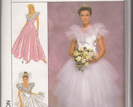 Simplicity 4399 Jessica McClintock Dress or Gown Pattern 8 to 16
