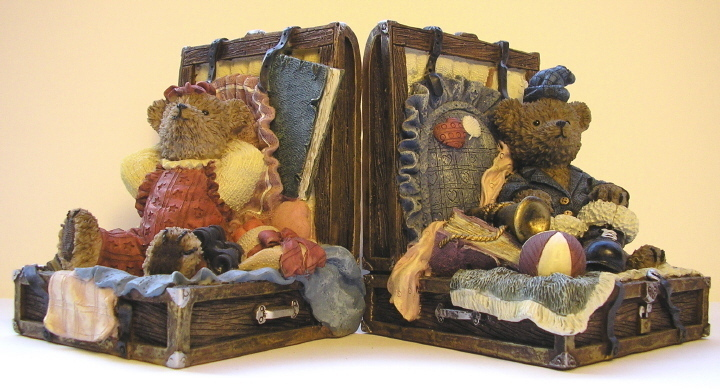 Bookends Country Bears Heavy Set of 2 Bookends