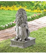 Lion Statue Yard Art - $58.00