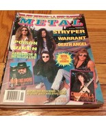 METAL November 1990: Stryper, Warrant, Death An... - $9.99