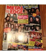 Metal Edge April 1992: Vol 36, No. 10, Metallic... - $9.99