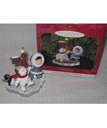 1999 Hallmark Frosty Friends Ornament w/ Box ~ 20th in Series