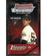 2007 Bowman CHROME Factory Sealed Baseball Box,... - $85.92