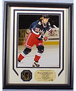WAYNE GRETZKY, Photo Display, New York Rangers,... - $191.38