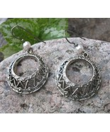 Vintage BOHEMIAN Abstract Modernist  Filigree H... - $19.59