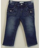Girls Old Navy Denim Blue Capri Jeans Size 8 - $8.00